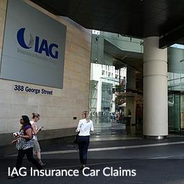 IAG car insurance claim
