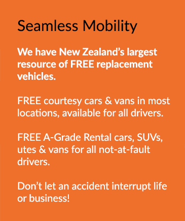 New Zealand's largest resource of FREE replacement vehicles.